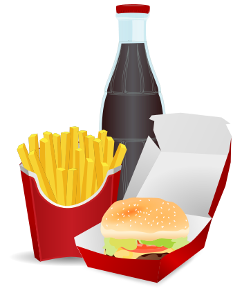 350x420 Free Fast Food Clipart, 2 Pages Of Public Domain Clip Art