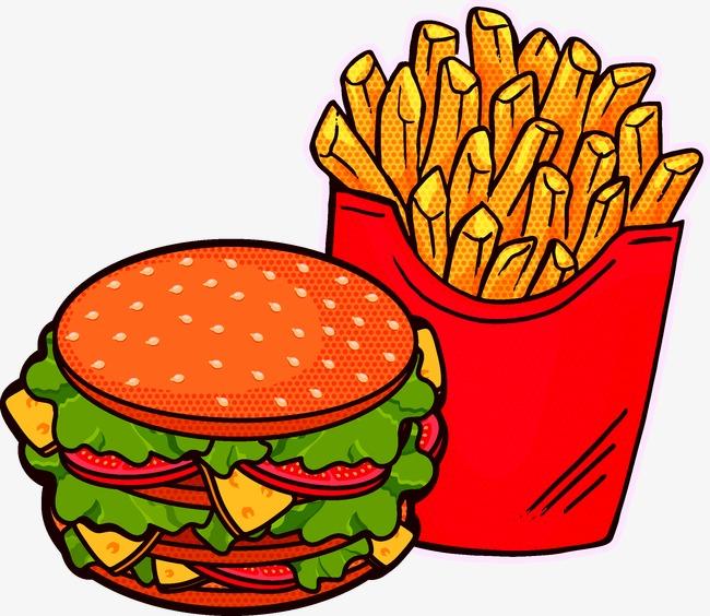 650x564 Fries Burger, French Fries, Hamburger, Food Png And Vector