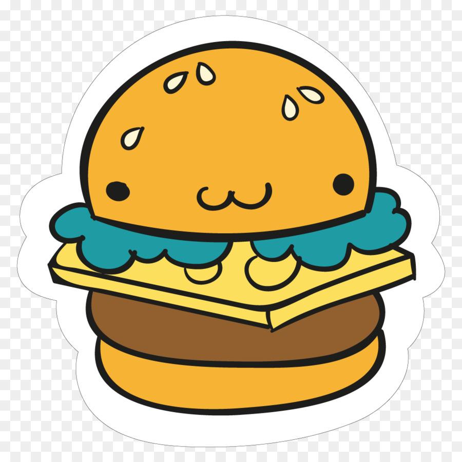 900x900 Hamburger Fast Food French Fries Sticker Burger King