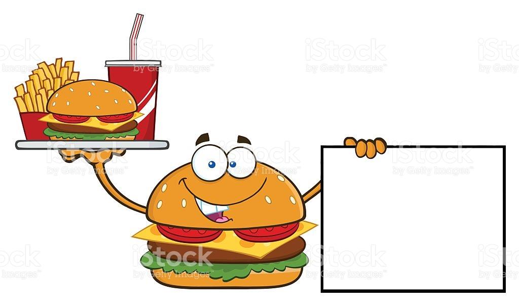 1024x603 Hamburger Clipart Plate Food