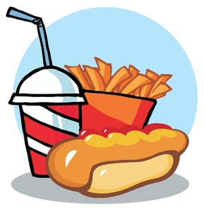 289x300 Hamburger Hot Dog Fries Clipart Png Collection