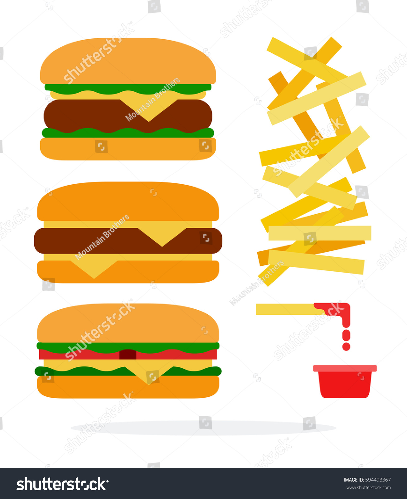 1305x1600 Veggie Burger Clipart Hamburger French Fry Free Collection