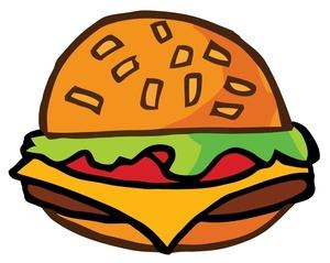 300x239 Free Hamburger Clipart Image 0521 1004 0716 0527 Computer Clipart