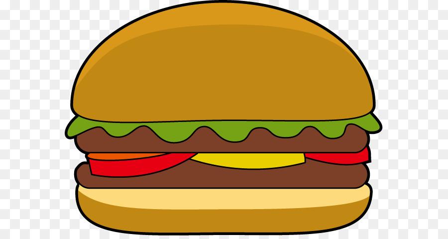 900x480 Hamburger Cheeseburger Veggie Burger Cartoon Clip Art
