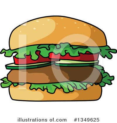 400x420 Hamburger Clipart
