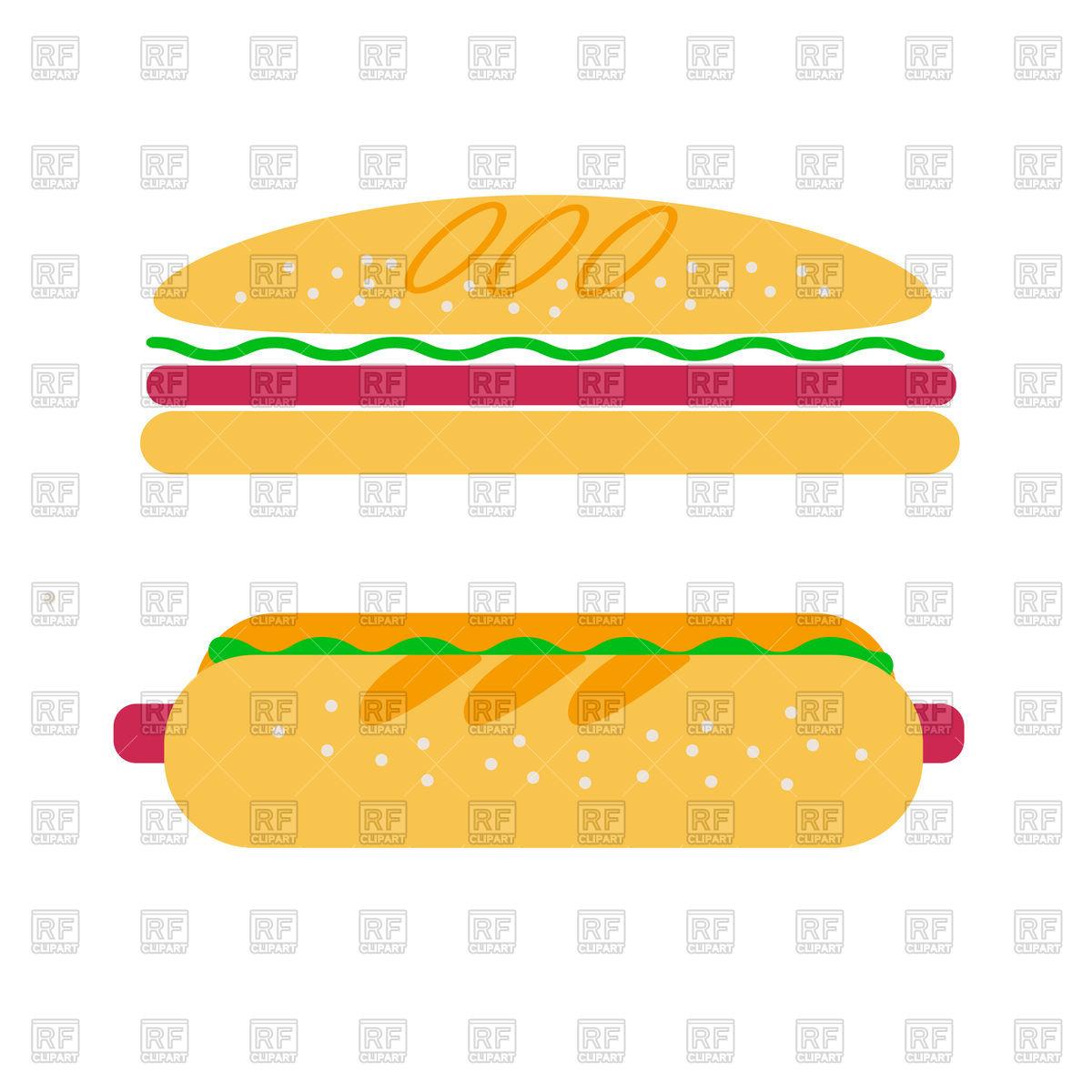1200x1200 Hamburger And Hotdog