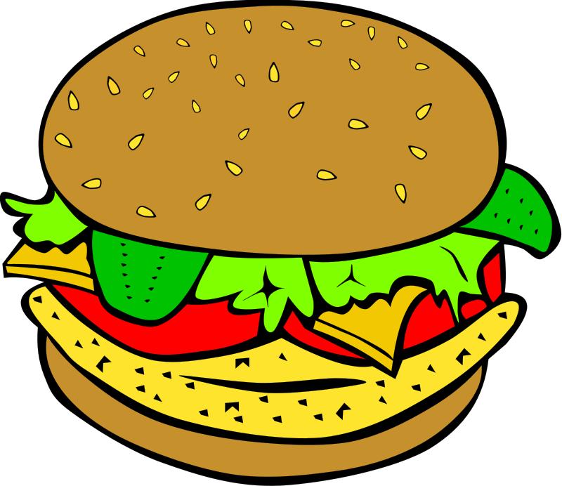 800x692 Hamburger Clip Art Clipart Panda