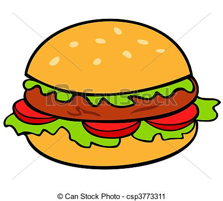 450x405 Hamburger Clipart Hamburger Vector Clip Art Search Illustration