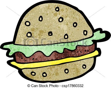 450x358 Cartoon Hamburger Vectors