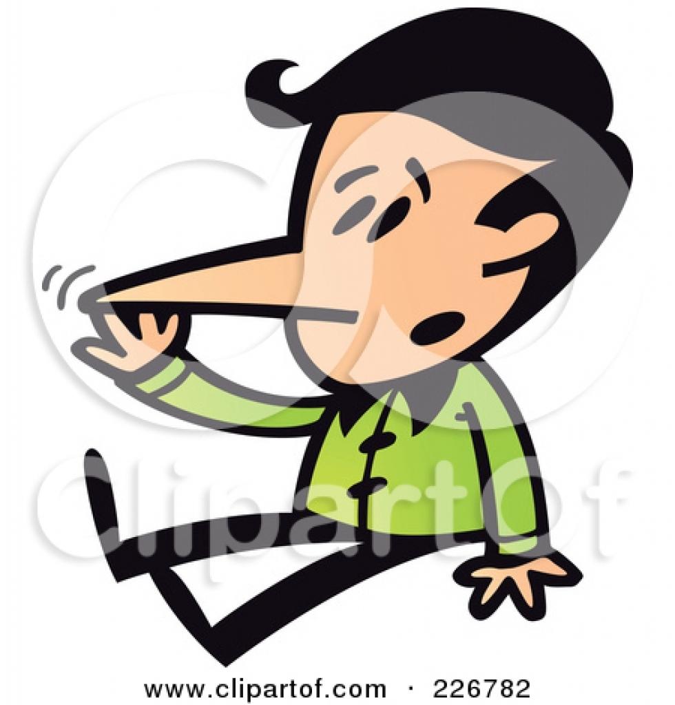 980x1024 Touch Your Nose Clipart Touch Your Nose Clipart Liar Clip Art