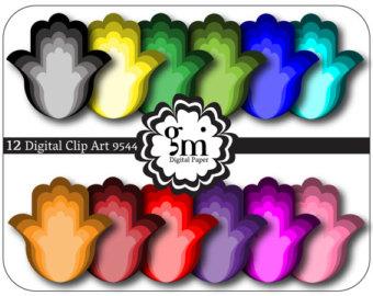 340x270 Hamsa, Hamsa Clip Art, Hamsa Clipart, Hamsa Digital Paper, Hamsa