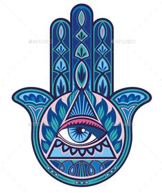 236x280 Hamsa. Face Up To Wardf The Evil Eye. Face Down As The Hand