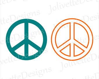 340x270 Peace Clipart Etsy
