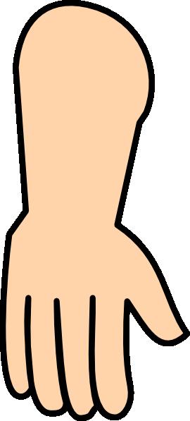 270x597 Hand Down Clip Art