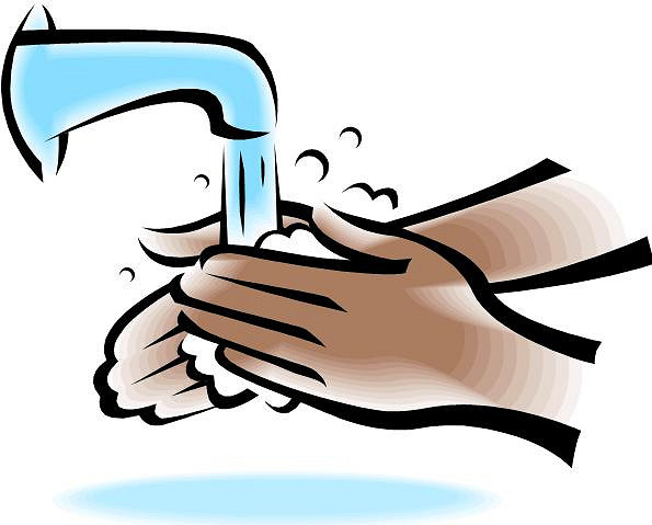 595x479 Hand Washing Clipart 4893336