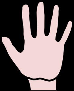 243x299 Open Hand Clip Art