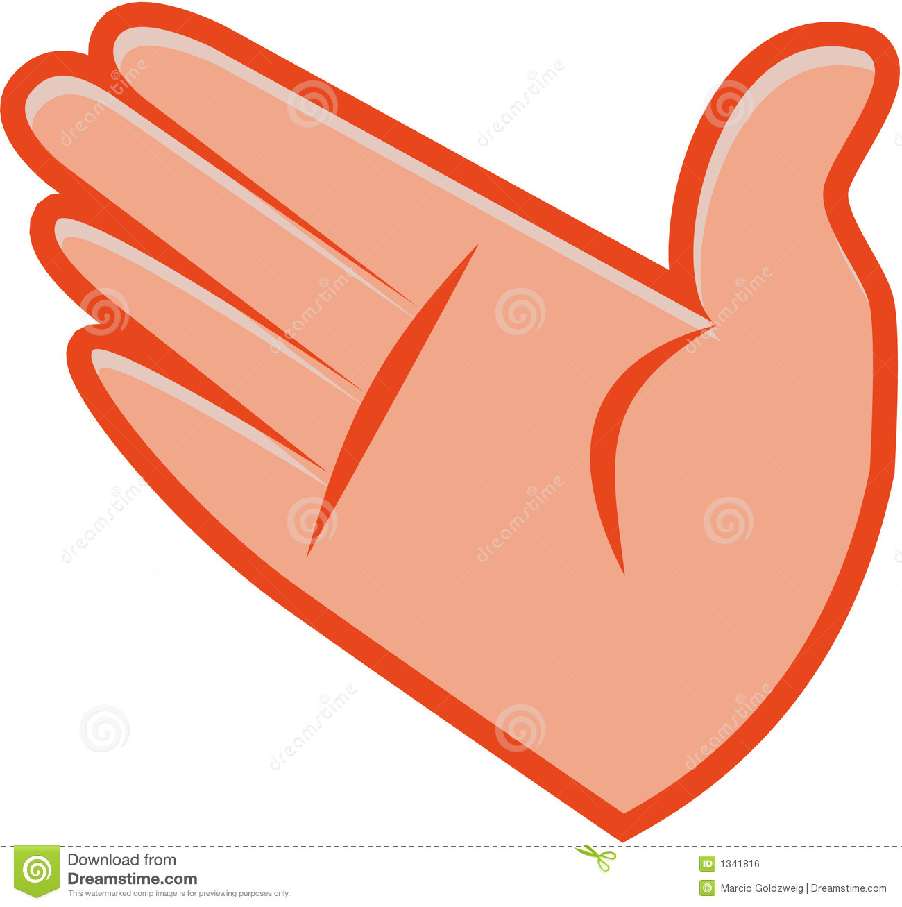 1300x1307 Slap Hand Clipart