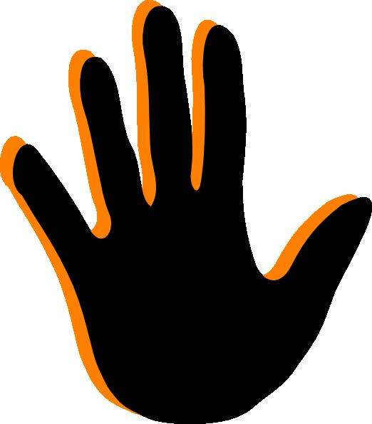 522x596 Free Handprint Clipart Handprint Clip Art