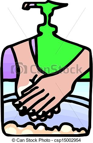 306x470 Vector Washing Hands Clipart Vector