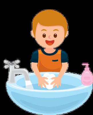 325x399 Hand Wash Clip Art Washing Hands Get Away Bacteria Clipart