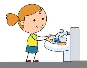300x235 Clipart Of Washing Hands Free Images