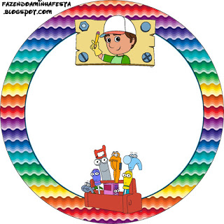 320x320 Handy Manny Party Free Printable Candy Buffet Labels. Oh My