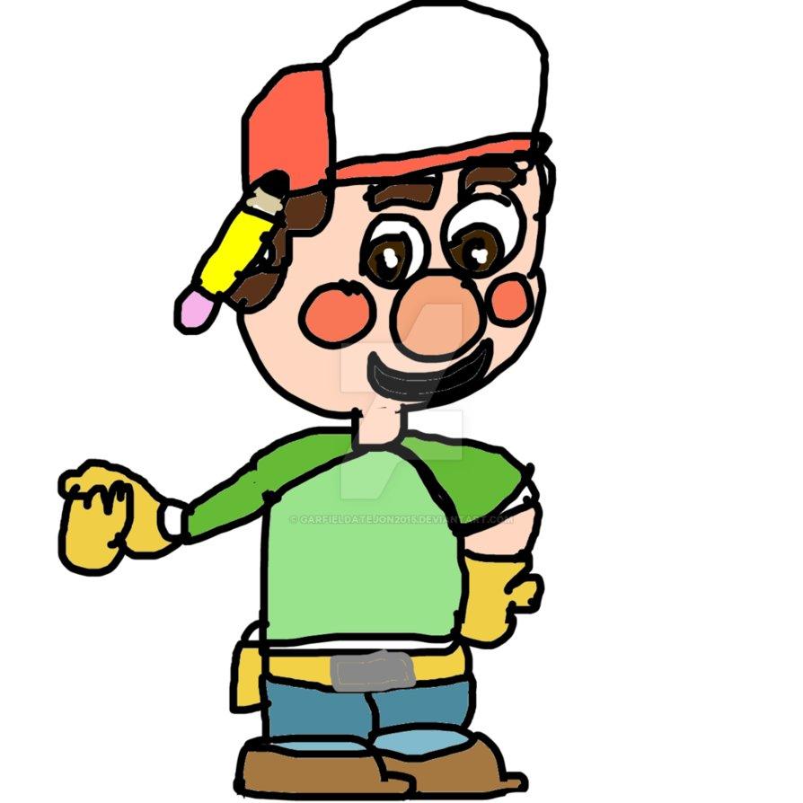 894x894 Handy Manny By Garfieldatejon2015