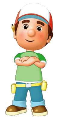 189x394 Cartoon Characters Handy Manny (Png)