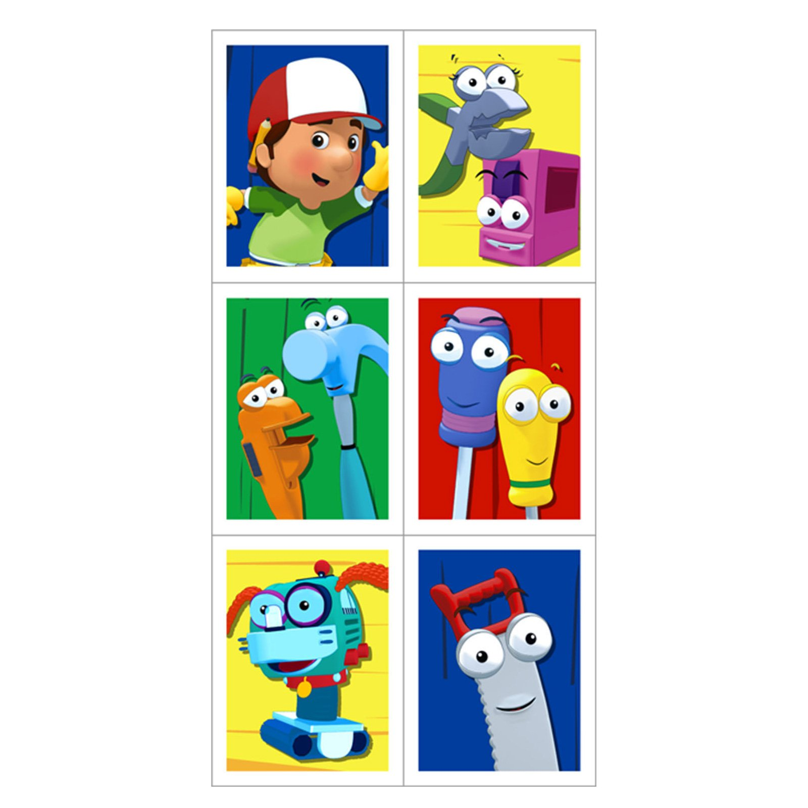 1600x1600 Handy Manny Stickers (4 Count)