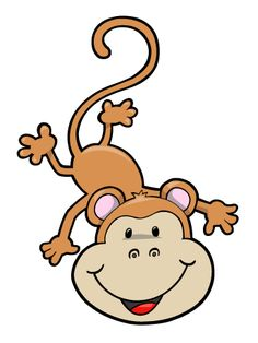 Hanging Monkey Clipart