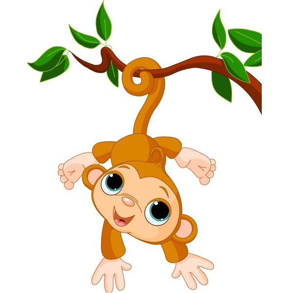 600x600 Monkey Clipart Transparent Background Amp Monkey Clip Art