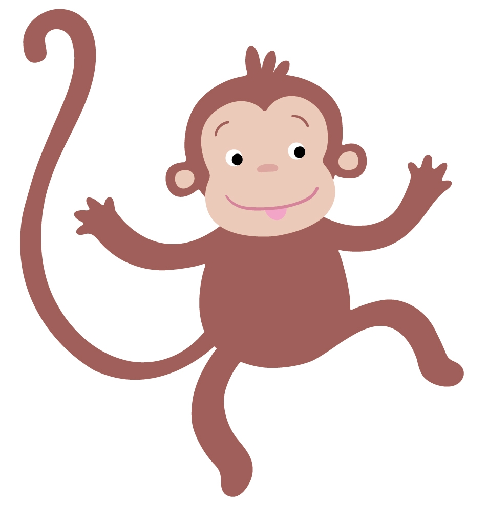 953x987 New Monkey Clipart Collection