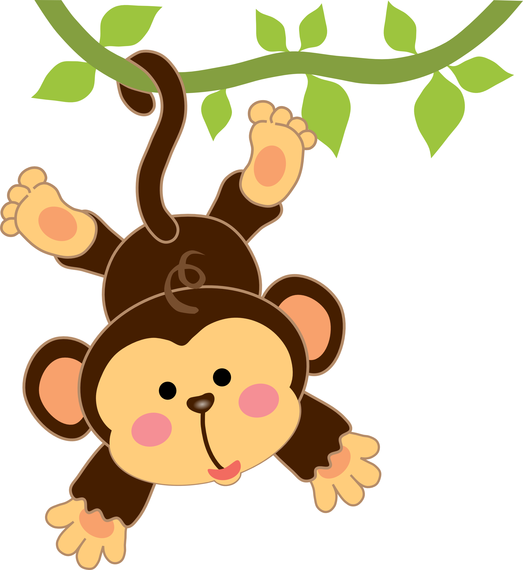 2203x2402 Pin By Helena Isabella On Dibujos Monkey, Babies