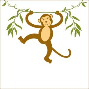 300x300 Spider Monkey Clipart Vine