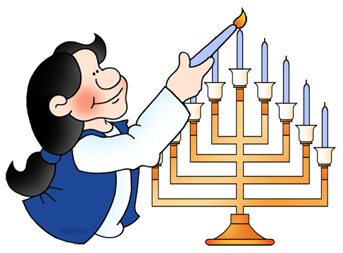 487x360 Free Hanukkah Clip Art By Phillip Martin