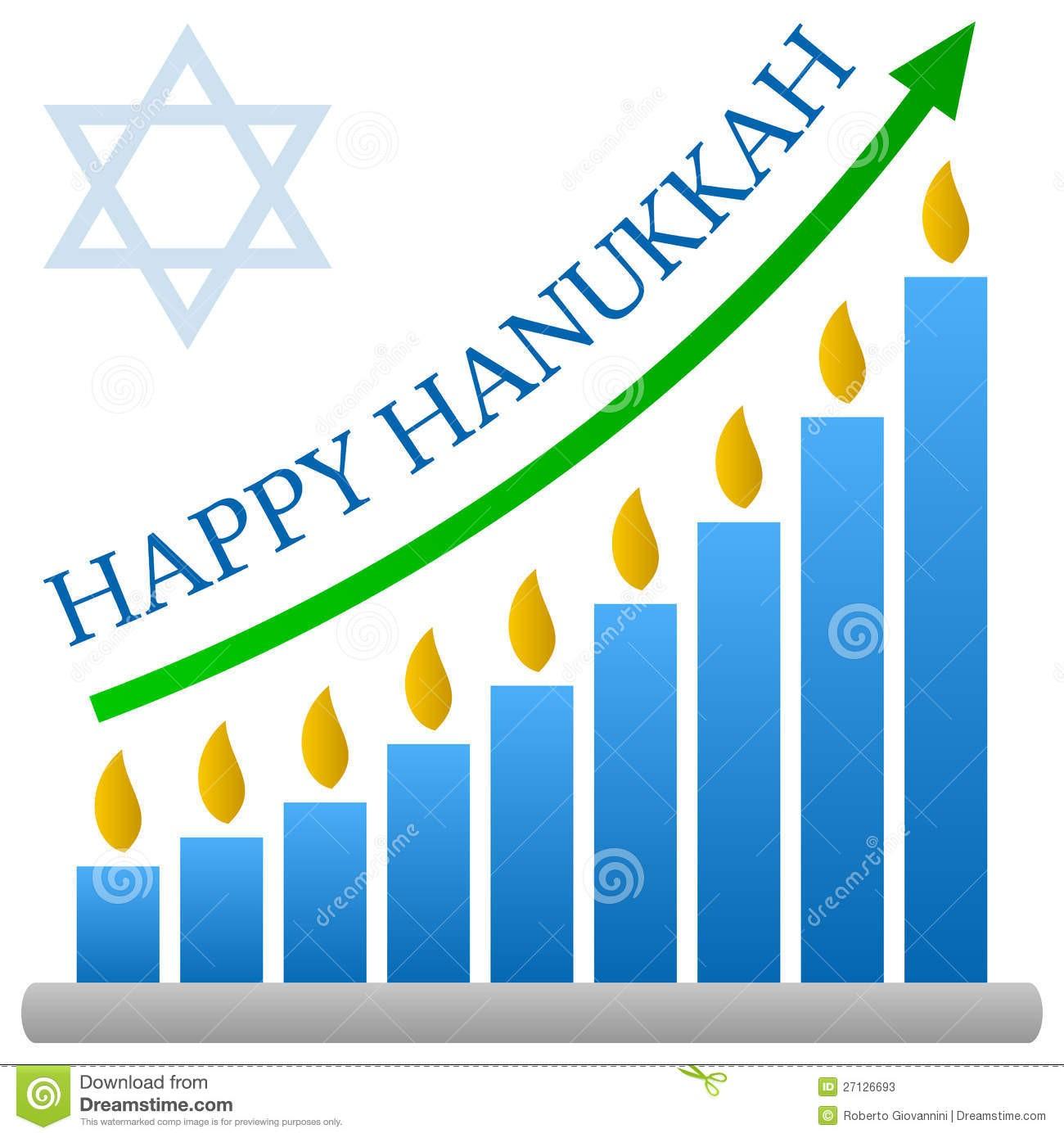 1300x1390 Happy Hanukkah Poster Blue Menorah Royalty Free Vector Clip Art