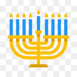 260x260 Menorah Hanukkah Thanksgivukkah Candle Clip Art