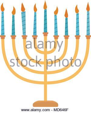 300x370 Vector Illustration Jewish Holiday Hanukkah Calendar, Gifts
