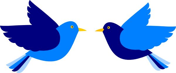 600x250 Clip Art Bluebird Of Happiness Clipart
