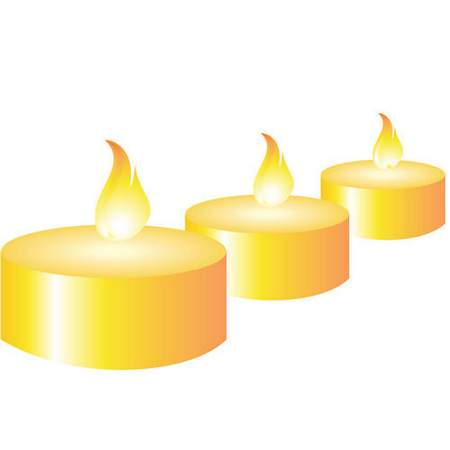 450x450 Clip Art Psd Christmas Candles