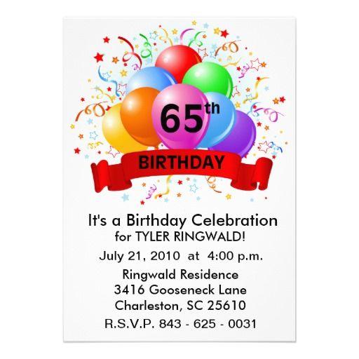 512x512 Happy 65th Birthday Clip Art