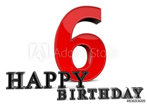500x354 Happy 6th Birthday
