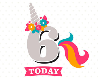 Happy 6th Birthday Clipart At Getdrawings Com Free For