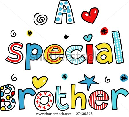 450x410 Collection Of Free Happy Birthday Brother Clipart High