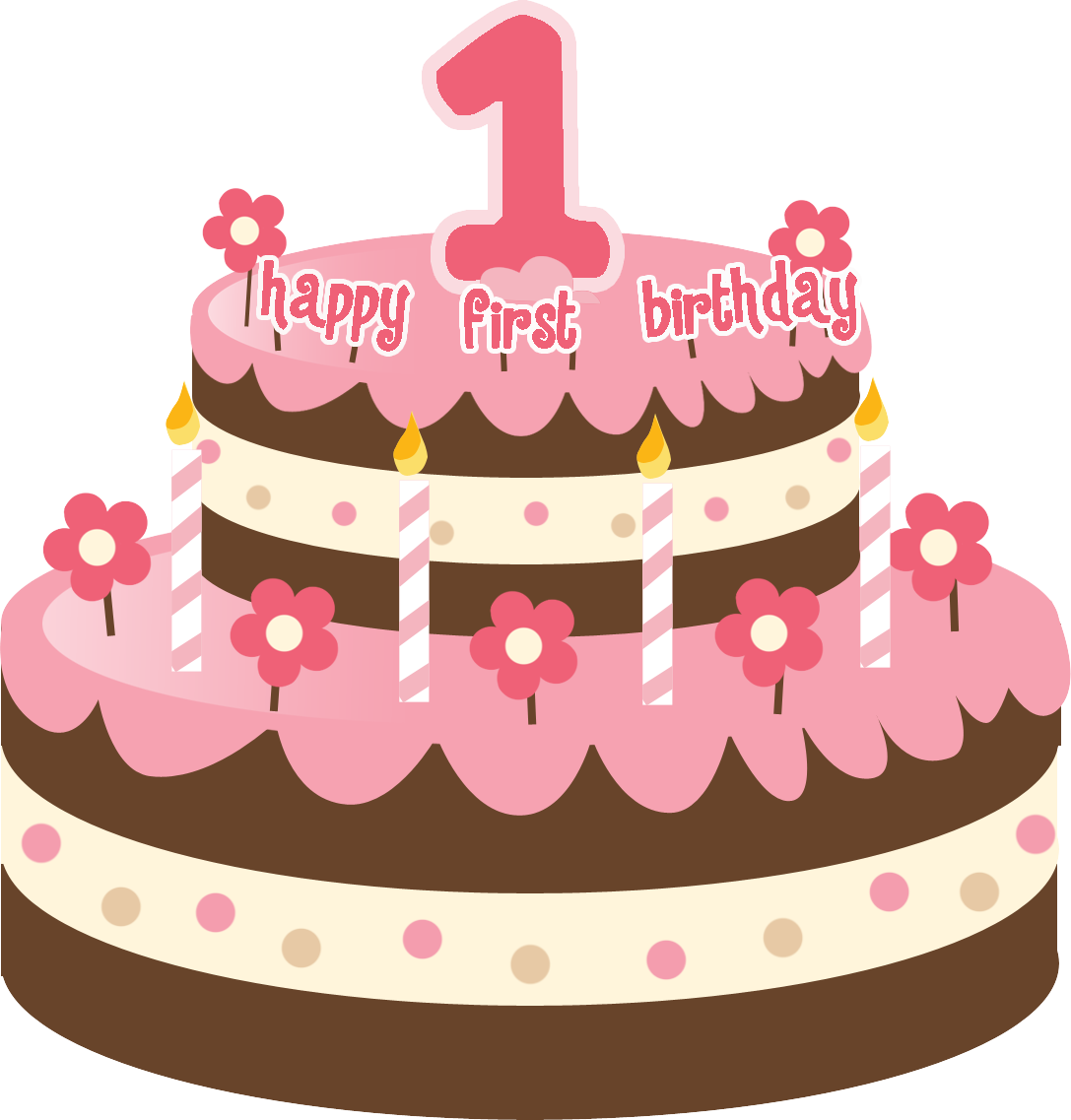 1087x1137 Cake Clipart 1st