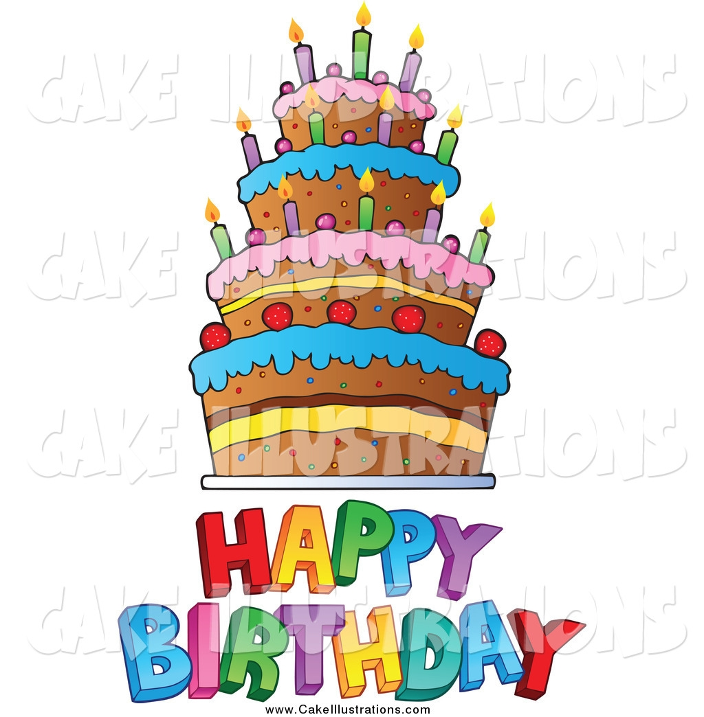 1024x1044 Happy Birthday Cake Clip Art
