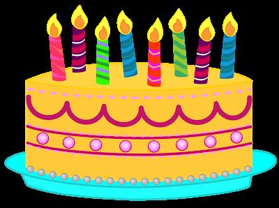 400x298 Teacher Birthday Cake Clipart