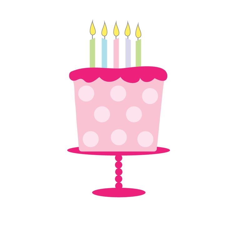 Happy Birthday Cake Clipart At Getdrawings Free For Personal