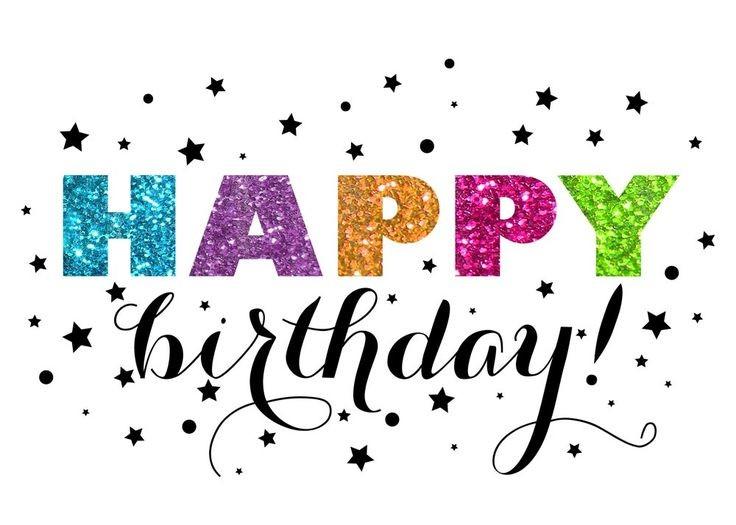 736x525 Glitter Birthday Cards New 13 Best Happy Birthday Clip Art Images