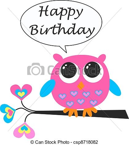 419x470 Happy Birthday Card Clipart Images